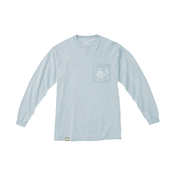 The Everyday Long Sleeve Tee in Mist