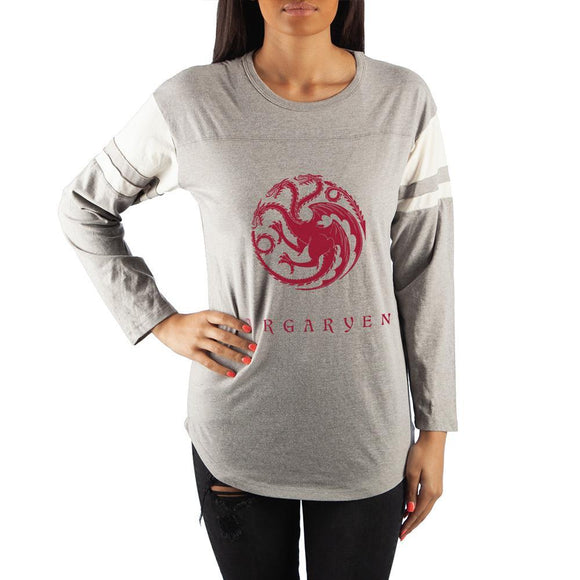 Game of Thrones House Targaryen Long Sleeve T-Shirt