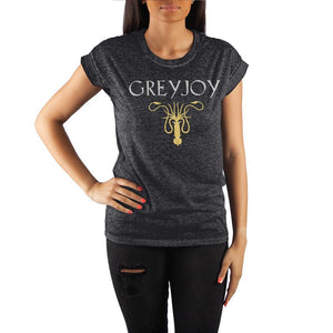 Juniors Game of Thrones Apparel House Greyjoy T-shirt