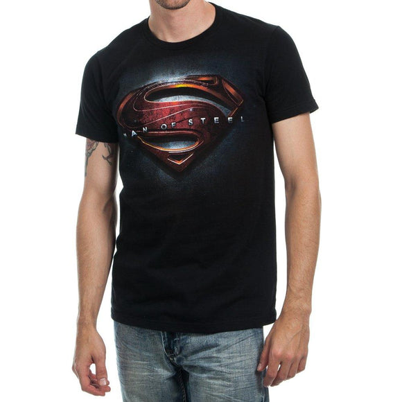 Man Of Steel Movie Logo T-shirt