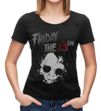 Friday The 13th Jason Voorhees Women's Black T-Shirt