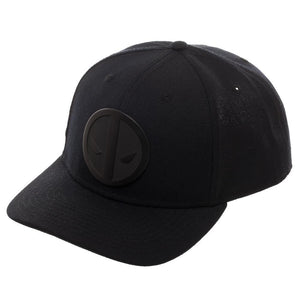 Deadpool Anti-Hero Black Ball Cap