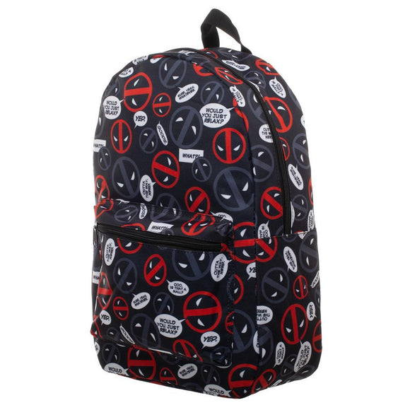 Deadpool Sublimated Backpack