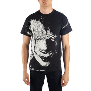 IT Oversized Pennywise Face Men's T-Shirt