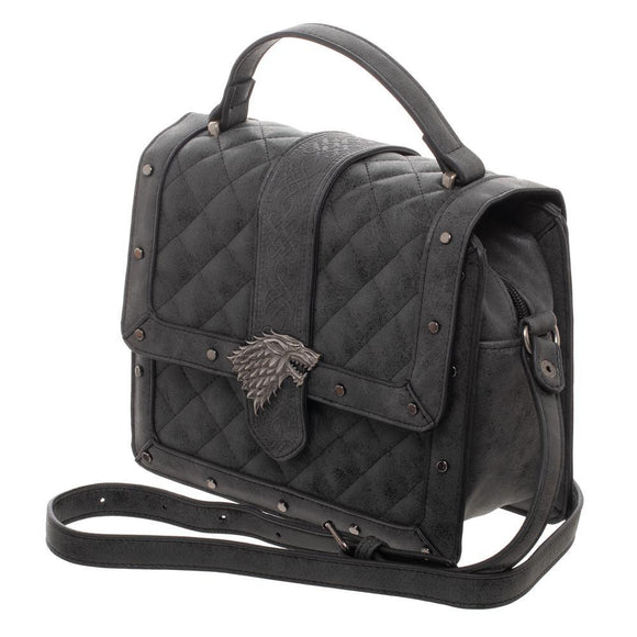 Game Of Thrones House Stark Quilted Detail Handbag