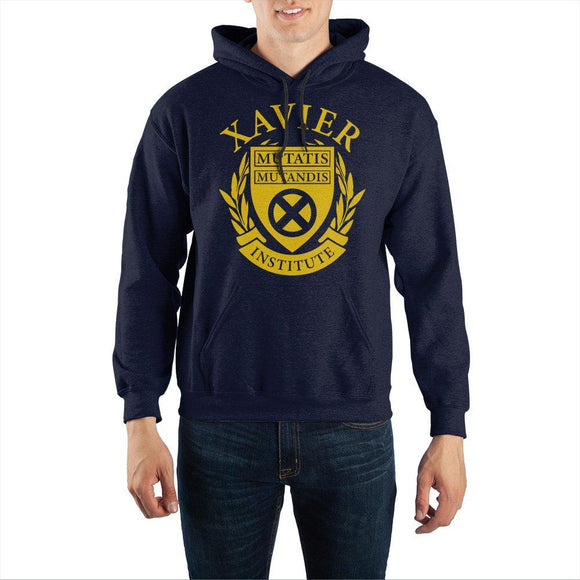 X-Men Xavier Institute Pullover Hoodie Sweatshirt