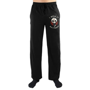 "Friday The 13th ""I Wish It Was Friday"" Sleep Pants"