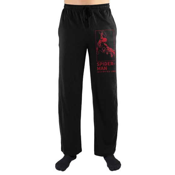 Marvel Spider-Man 1962 Kanji Text Sleep Pants