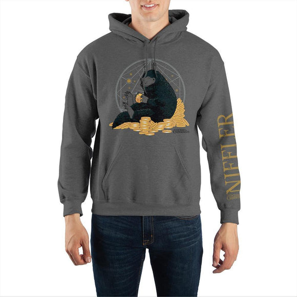 Fantastic Beasts: The Crimes of Grindelwald Niffler Pullover Hooded Sweatshirt