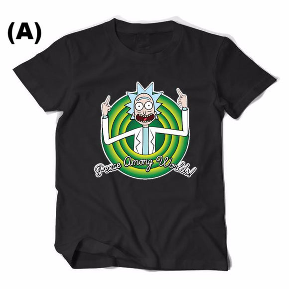 Peace Among Worlds, Rick and Morty T-shirt
