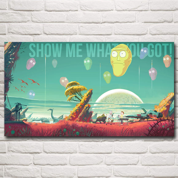 Show Me What You Got, Rick and Morty Poster