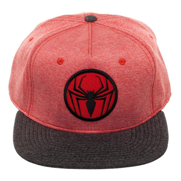 Spider-Man Two Tone Red and Black Snapback