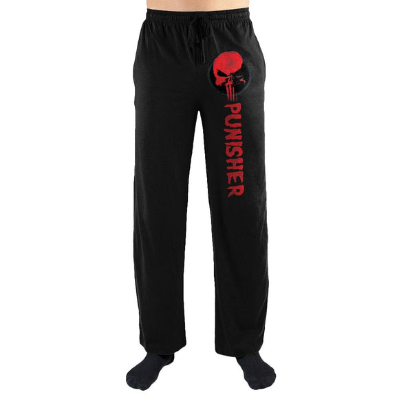 Marvel Comics The Punisher Red Skull Men's Lounge Pants