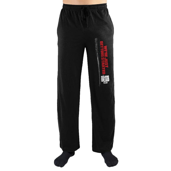 The Walking Dead We're Just Getting Started Men's Pajama Pants