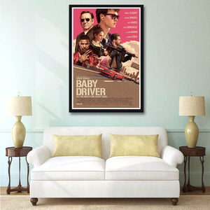 Baby Driver Silk Poster