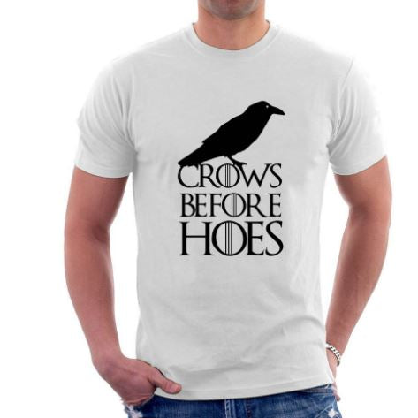 White Crows Before Hoes | Game of Thrones T-shirt