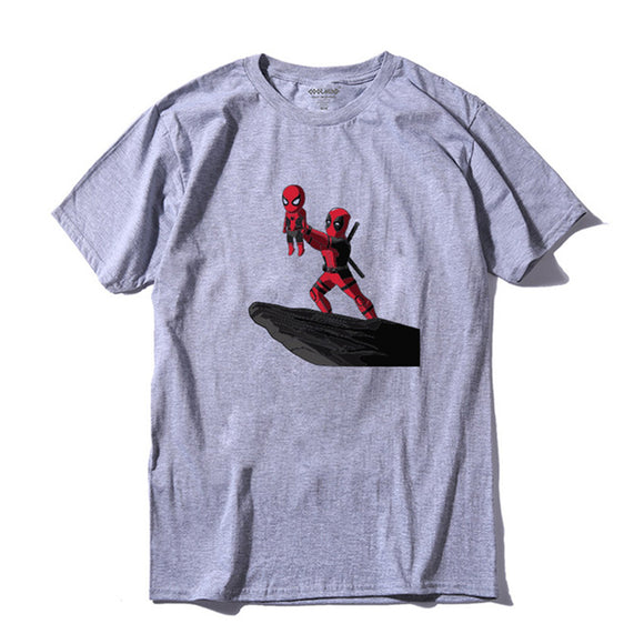 Deadpool & Spidey On Pride Rock T-shirt