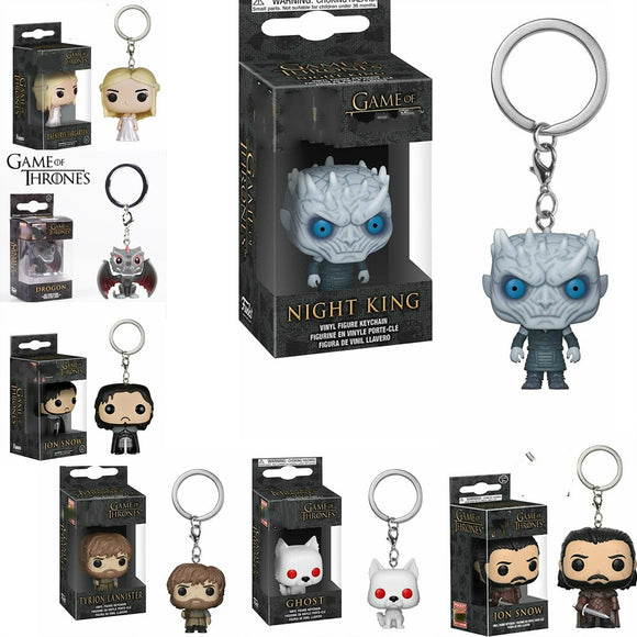 Winter Is Coming Keychains