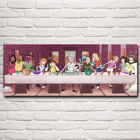 Rick's Last Supper, Rick and Morty Poster