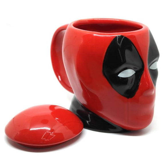 Deadpool Head Coffee Mug
