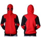 Deadpool Full Zip Up Hoodie
