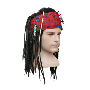 Jack Sparrow Wig | Pirates of the Caribbean Costume