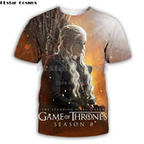 Game of Thrones 3d Print Unisex T-shirt
