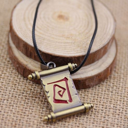 Teleport Scroll Pendant | DOTA 2 Necklace