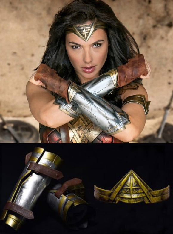 Wonder Woman Bracer & Tiara