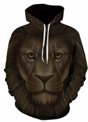 MOLETOM ANIMAL LION UNISEX