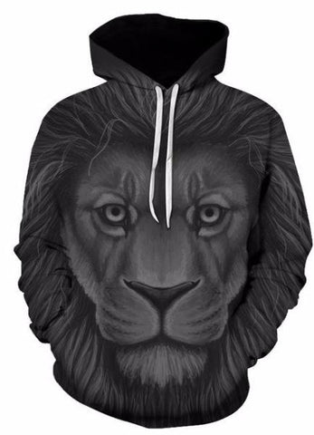 MOLETOM ANIMAL LION 3D UNISEX