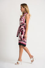 Load image into Gallery viewer, JOSEPH RIBKOFF GRAPHC PRINT DRESS STYLE 202377