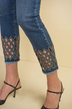 Load image into Gallery viewer, Joseph Ribkoff Diamond Cut Jeans Style: 211967