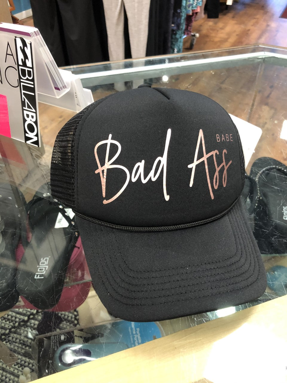 Blonde Ambition Bad Ass Babe Cap