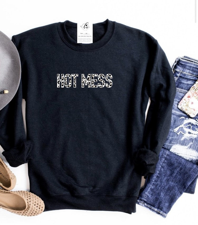 Blonde Ambition Hot Mess Sweater