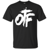 OTF Black and White Tee