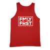 Lil Durk - FMLY FRST Tank (Red - White Ink) - OTF