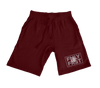 Lil Durk - FMLY FRST Shorts (Burgundy - Grey Ink) - OTF