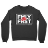 Lil Durk - FMLY FRST Crew Sweater (Black - White Ink) - OTF