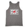 Lil Durk - FMLY FRST Tank (Heather Grey - White Ink) - OTF