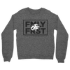 Lil Durk - FMLY FRST Crew Sweater (Heather Grey - Black Ink) - OTF