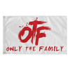 "Lil Durk - Only The Family Flag 36"" x 60"" - OTF"