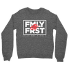 Lil Durk - FMLY FRST Crew Sweater (Heather Grey - White Ink) - OTF