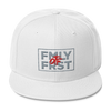 Lil Durk - FMLY FRST (Grey/Red) Wool Blend Snapback - OTF