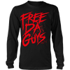Free Da Guys Long Sleeve Black