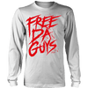 Free Da Guys Long Sleeve White - Lil Durk