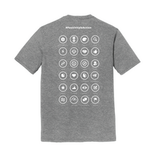 Load image into Gallery viewer, P2 UNISEX SHORT SLEEVE T-SHIRT #PositivityInAction