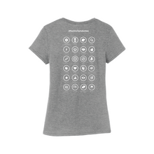 Load image into Gallery viewer, P2 WOMEN'S SHORT SLEEVE T-SHIRT #PositivityInAction