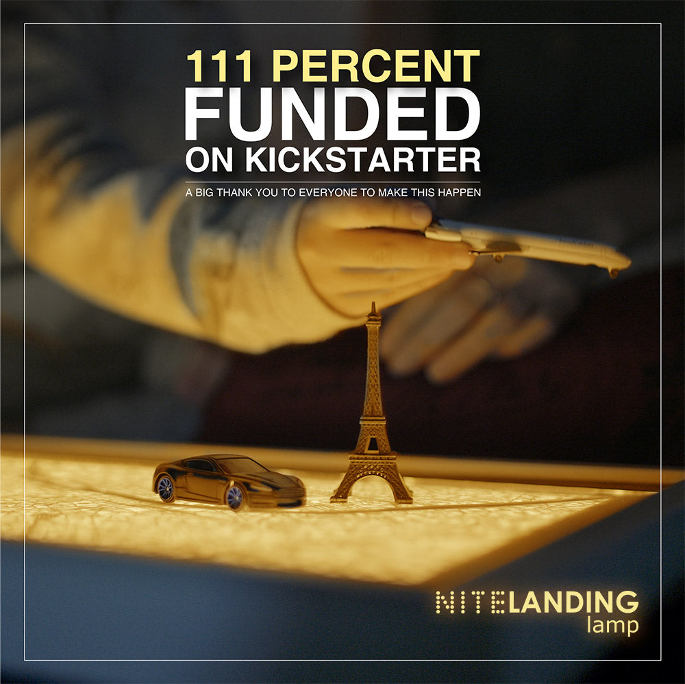 We MADE IT! 111% Funded in Day 02