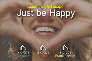 Just Be Happy Essential Oil Recipe